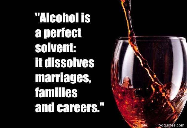 A Perfact Solvent Dissolves Marriages