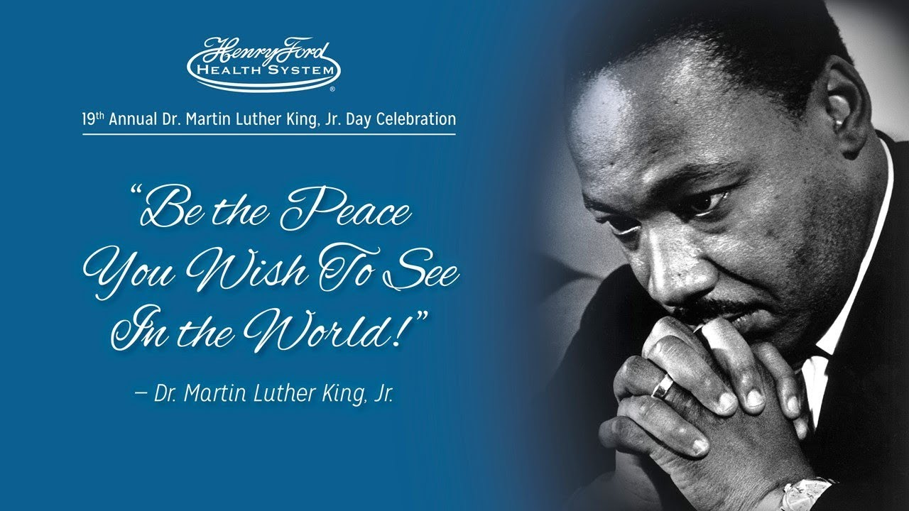 Be The Peace You Wise To See In The World Image   Copy