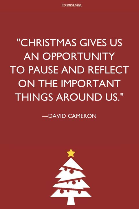 Christmas Gives Us An Opportunity To Pause