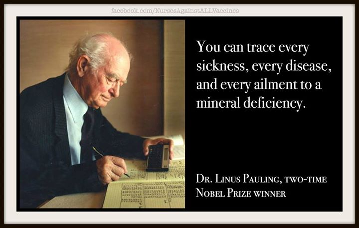 Dr. Linus pauling Two Time Nobel Prize Winner