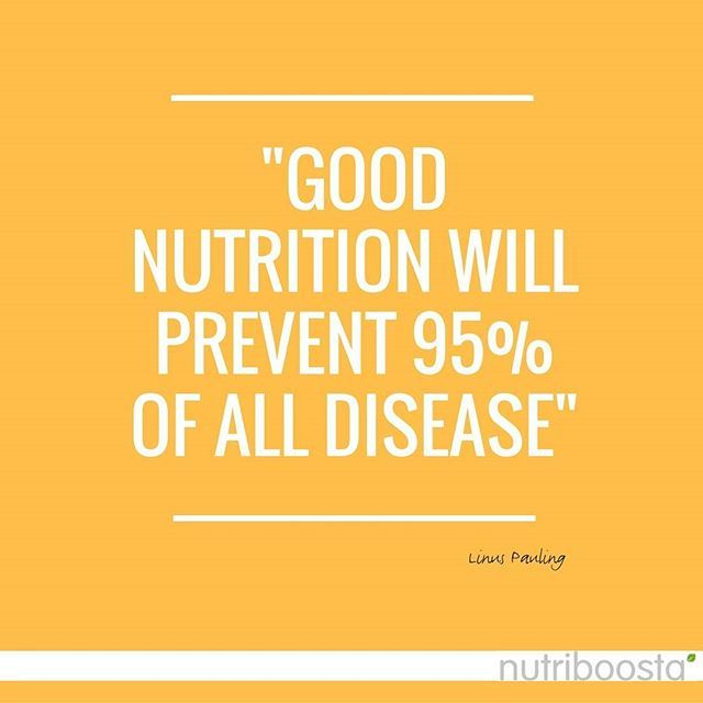 Good Nutrition Will Prevent Of All Disease