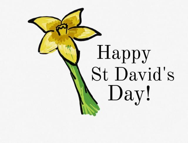 Happy Beutifull St david's Day Greeting Cards