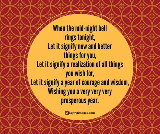 Let It Signify New And Better Things For  You Quotes