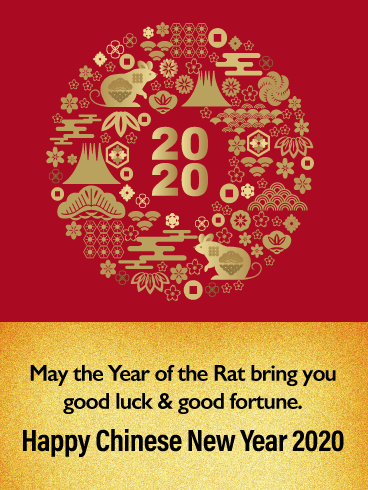 May The Year Of Rat Bring You