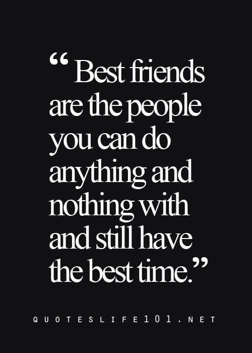 The Best Time A Best Friends Are The Peoples