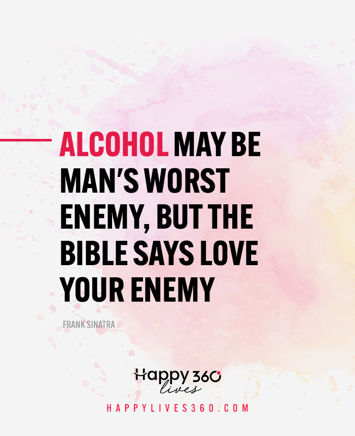 The Bible Says Love Your Enemy Drinks