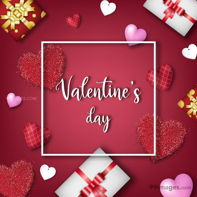 Valentins Day Cute Wife