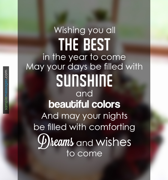 Wishing You All The Best Messages