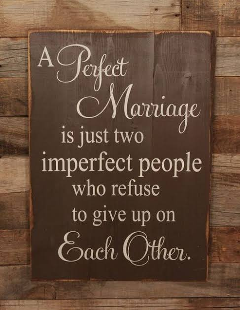 A Perfect Marrige Is Just TwoPeople