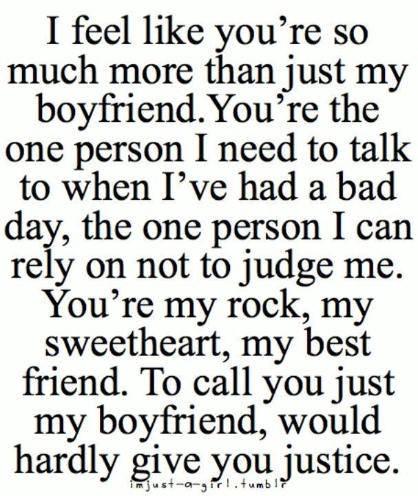 Feel Like You Are So Much I Love My Boyfriend Quotes