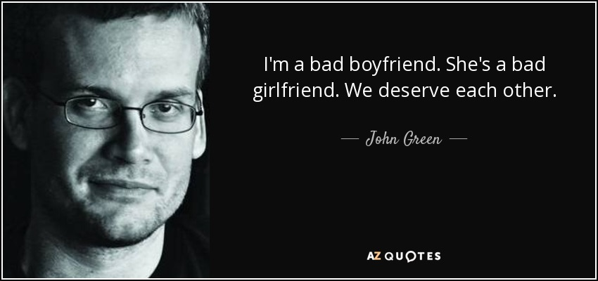 I Am Bad Boyfriend Girlfriend