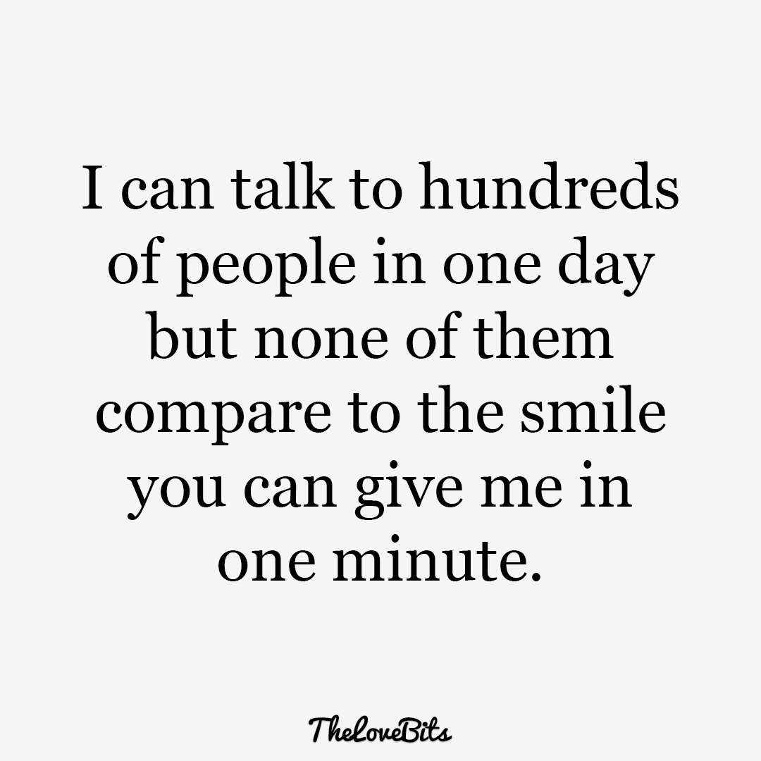 I Can Talk To Hundreds Of People