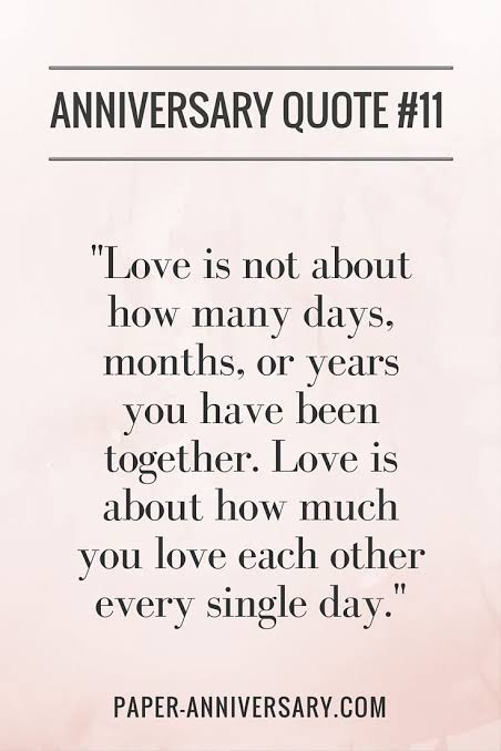 Love Is About How Much Each Other