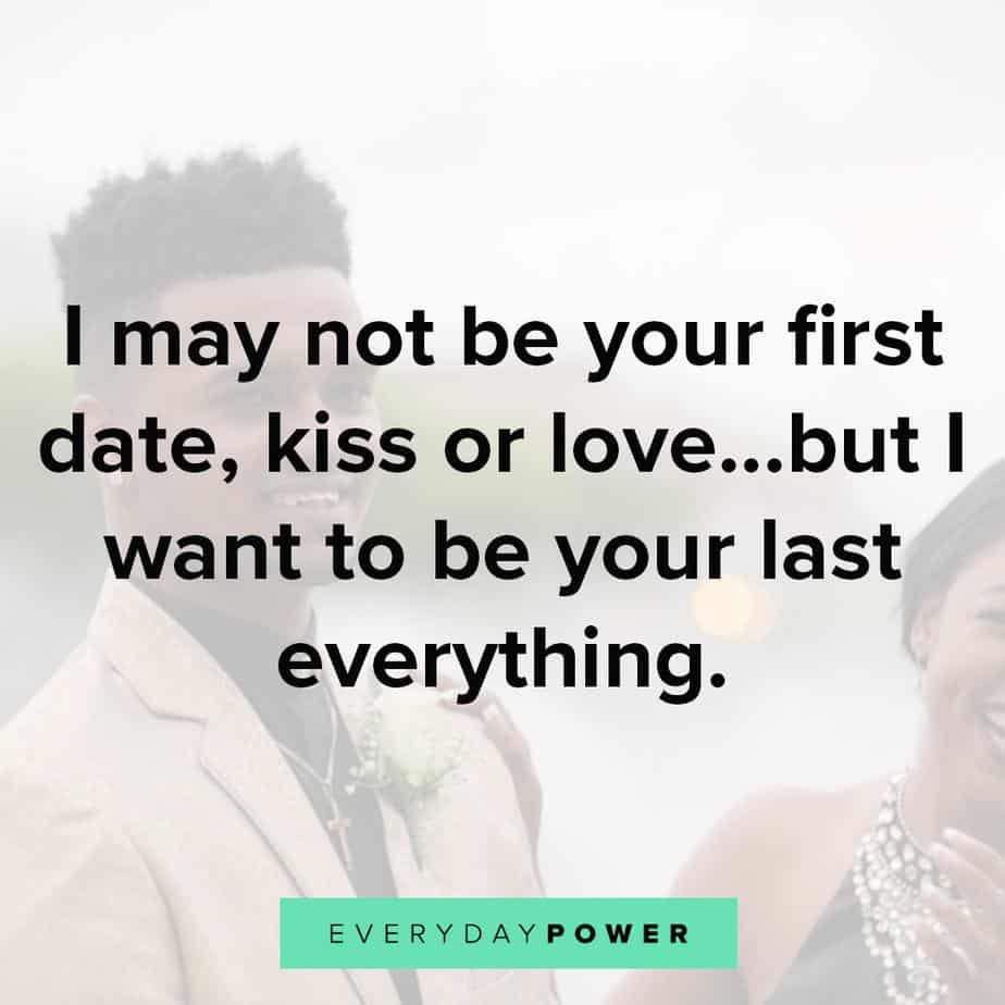 May Not Be Your First Date Kiss