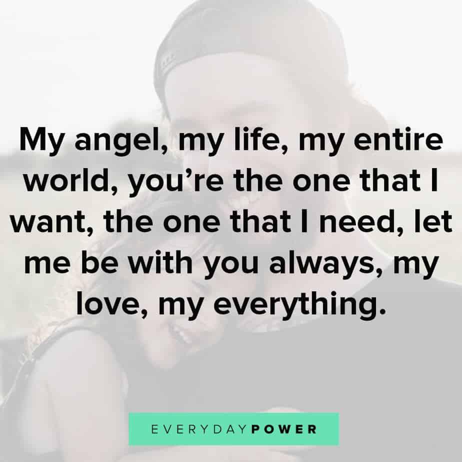 My Angel My Life My Entire World