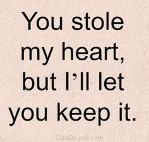 Stole My Heart But I Will