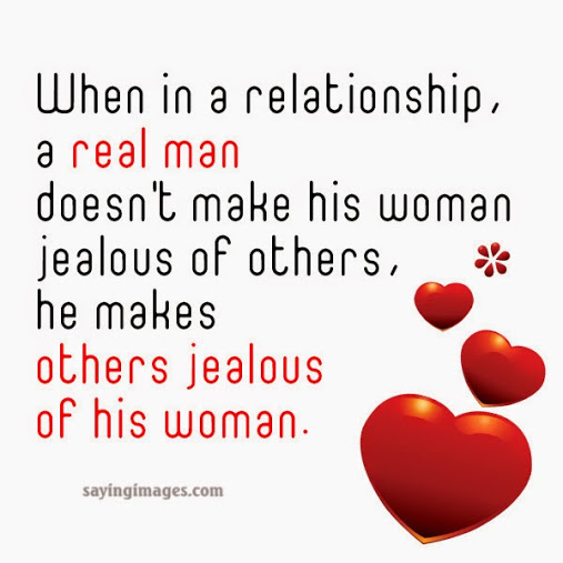 When In A Relationship A Real Man