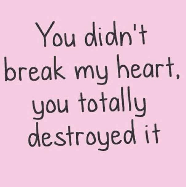 You Dont Break My Heart
