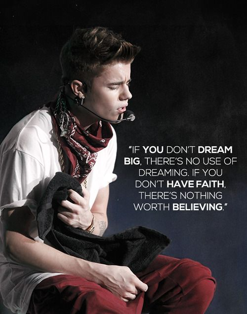 Dream Big Theres No Use Of Dreaming