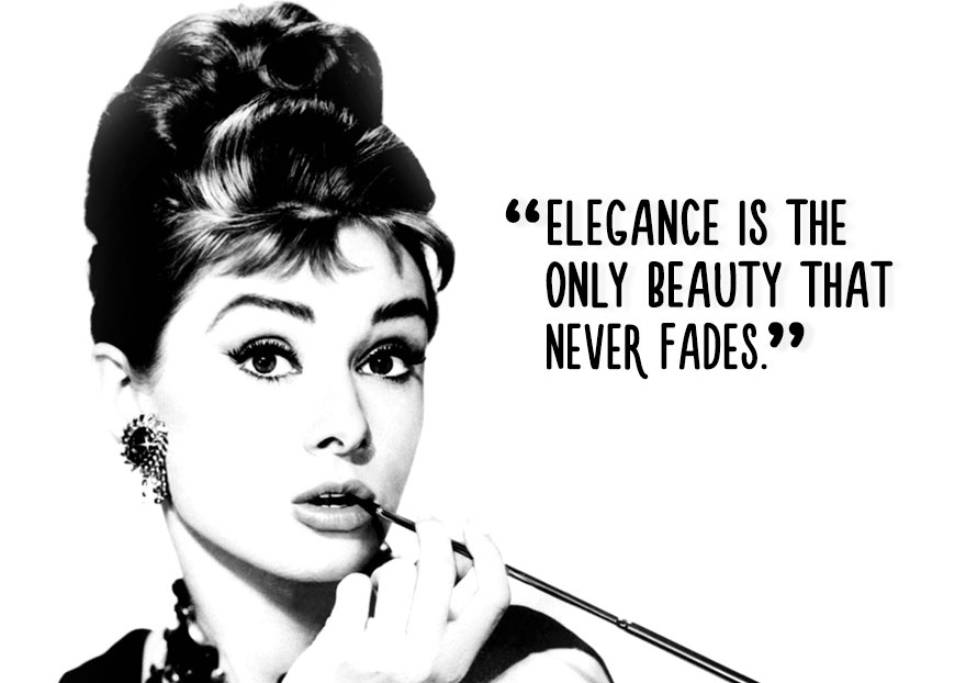 Elegance Is The Only Beauty