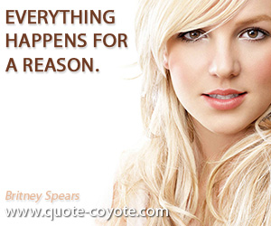 Everthing Happens For A Reason