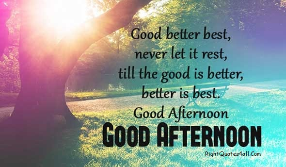 Good Better Best Naver Let It Rest Till The Good