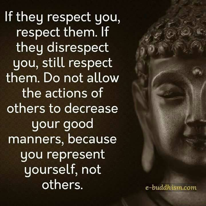 If You Respect You Respect Them