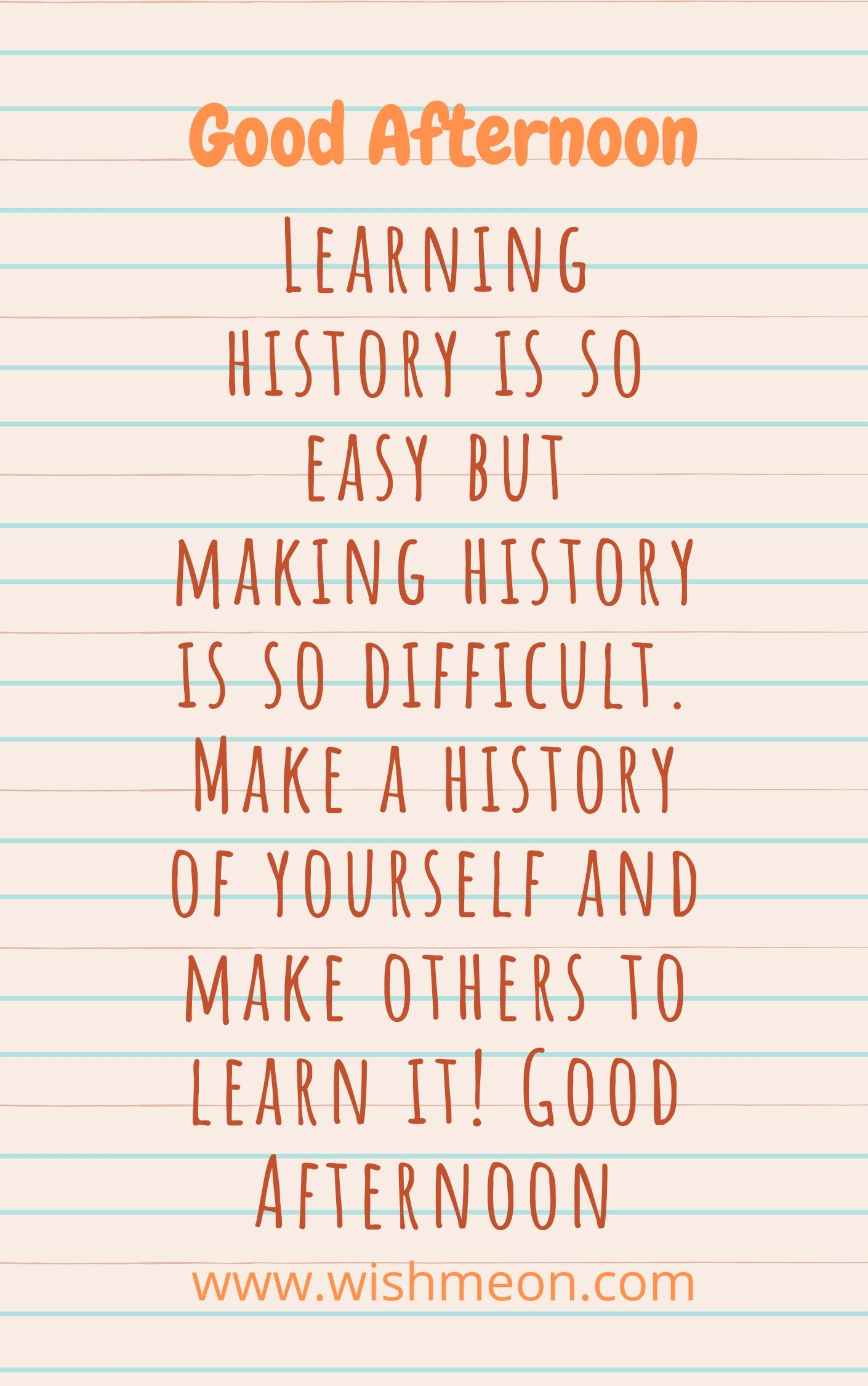 Learning History Is So Easy But Making