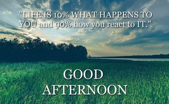 Life Is Ten Percent What Happens To You And React