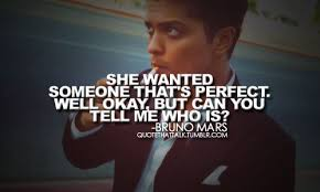 She Wanted Someone Thats Perfect Well