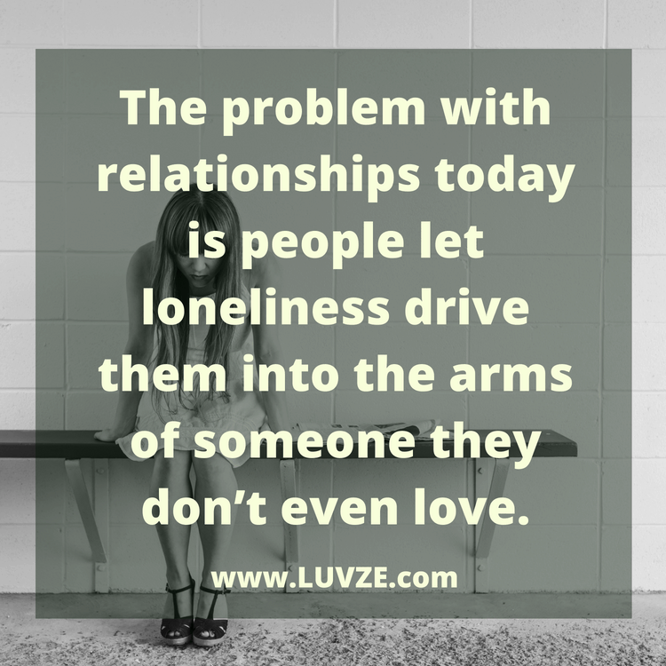 The Problem With Relationships