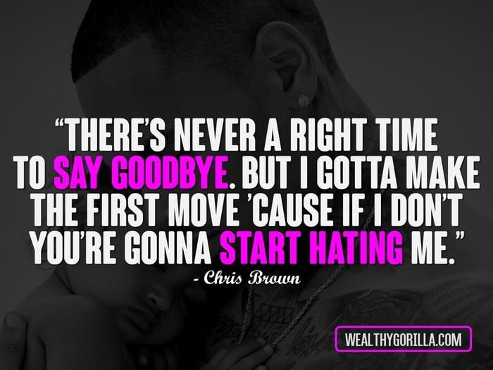 Theres Never A Right Time To Say Goodbay
