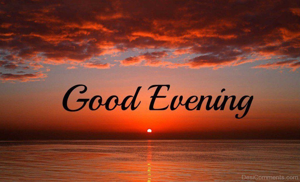 Very Sun Moon Good Evening Day