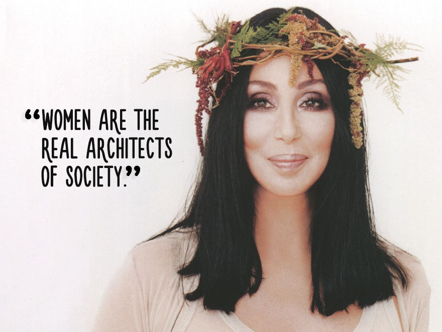 Woman Are The Real Architects
