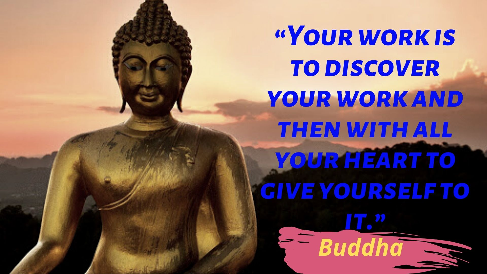 Your Work Is To Discover Your