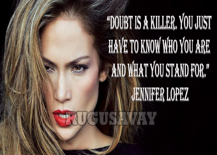 Doubt Is A Killer You Just Have To Know