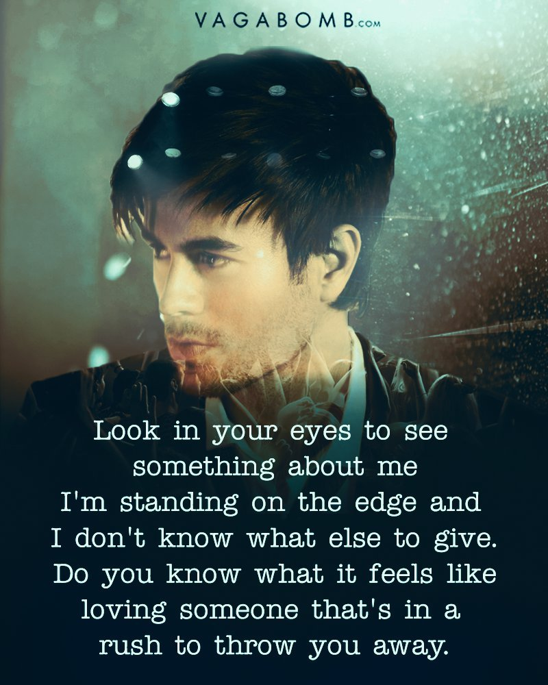 Look In Your Eyes To See Something About Me