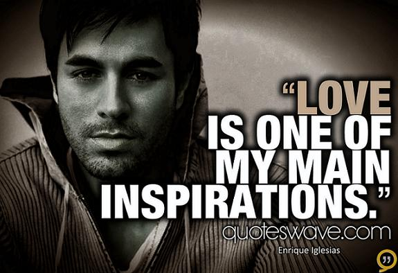 Love Is One OfMy Main Inspirations