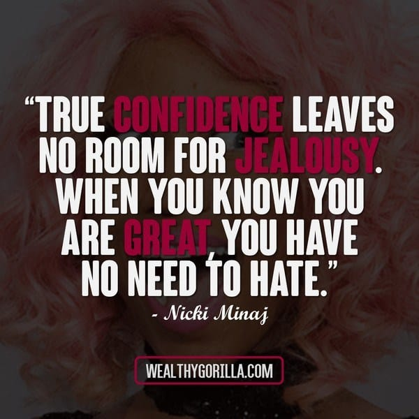 True Confidence Leaves No Room For jealousy