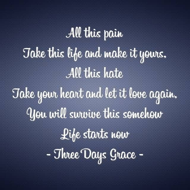 All This Pain Take This Life And Make Grace Vanderwaal Quotes