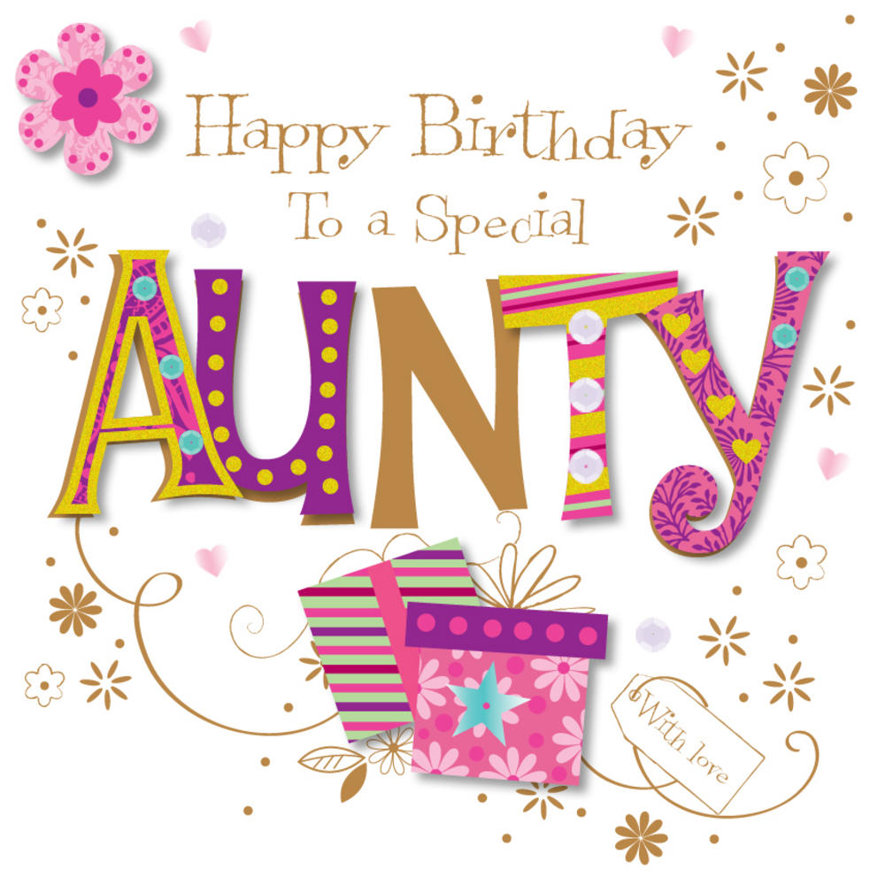 Birthday My Special Aunt With Love