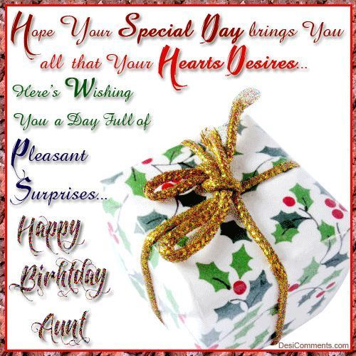 Hope You Special Day Brings