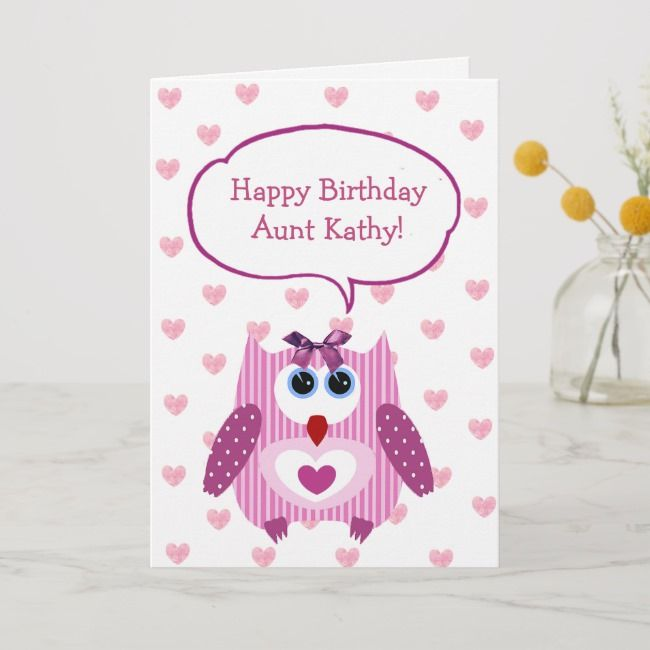 Katly Aunt Happy Baday Wishes