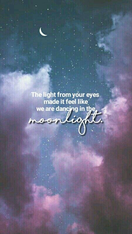 The Light From Your Eyes Made It Feek Like