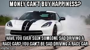 Monet Can't But Happiness Car Meme