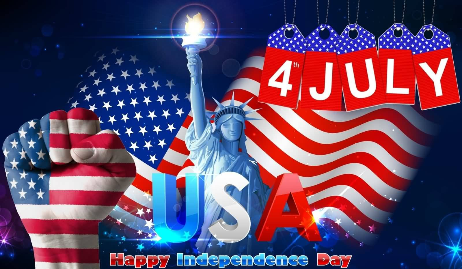 Best Wishes Of USA independence Day Greetings and Wishes Photos