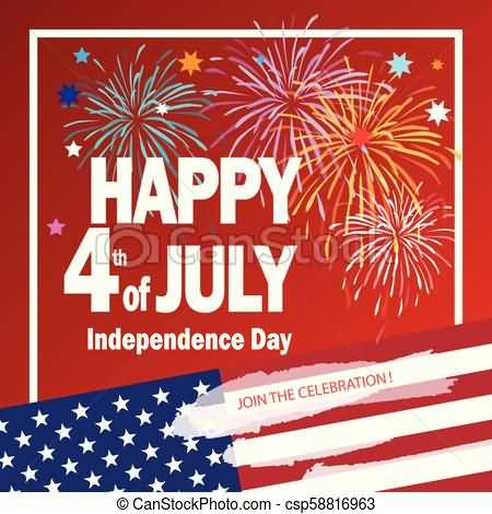 Happy Independence Day Greetings For Family 4th july