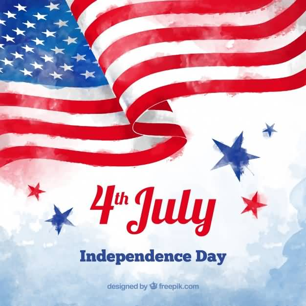 Wish You A Wonderful 4th July Greetings Cards And Message, Photos