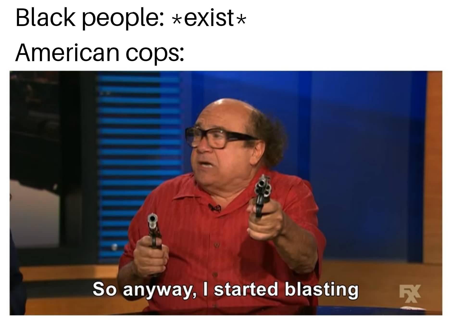 Black People Exist American American Meme