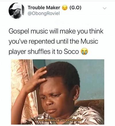 Gospel Music Will Make African Meme